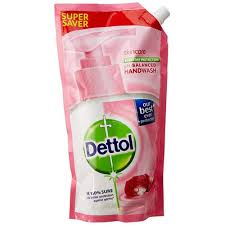 Dettol pH-Balanced Skincare Liquid Handwash Refill Super Saver Pack 1500 ml