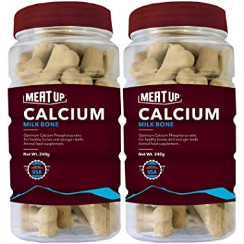 Meat Up Calcium Bone Jar 240 gm