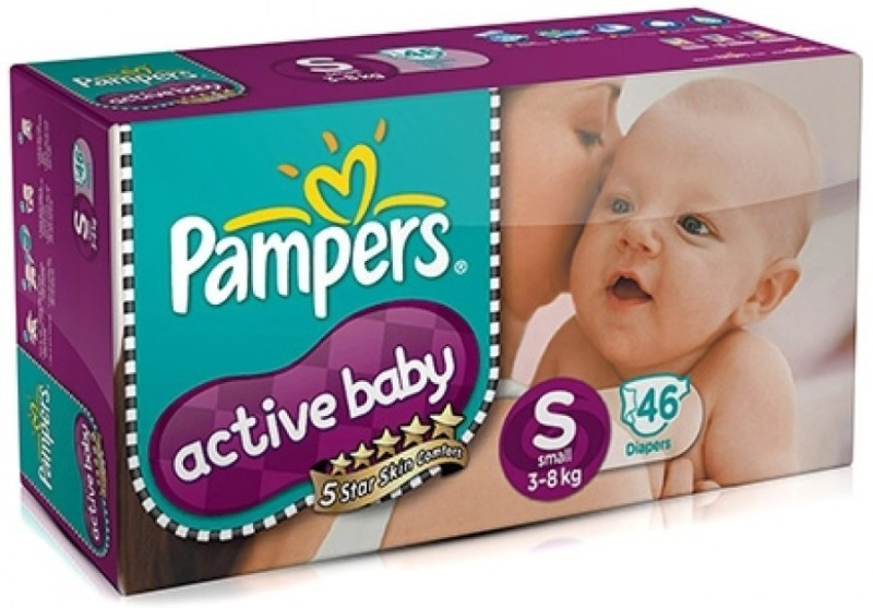 Pampers Active Baby Diapers 1 pkt