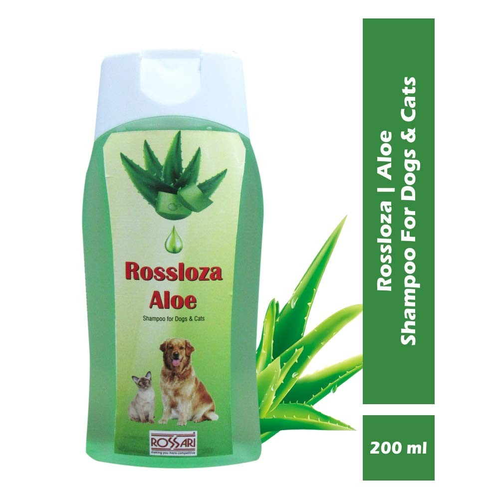 Rossloza Aloe Vera Dog and Cat Pet Shampoo 500 ml