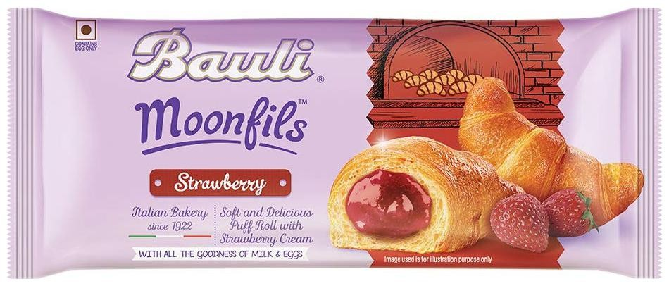 Bauli Moonfils Strawberry 45 gm