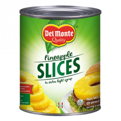 Del Monte Pineapple Slices 836 gm